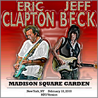 Roio Blog Archive Eric Clapton And Jeff Beck Madison Square Garden 2010
