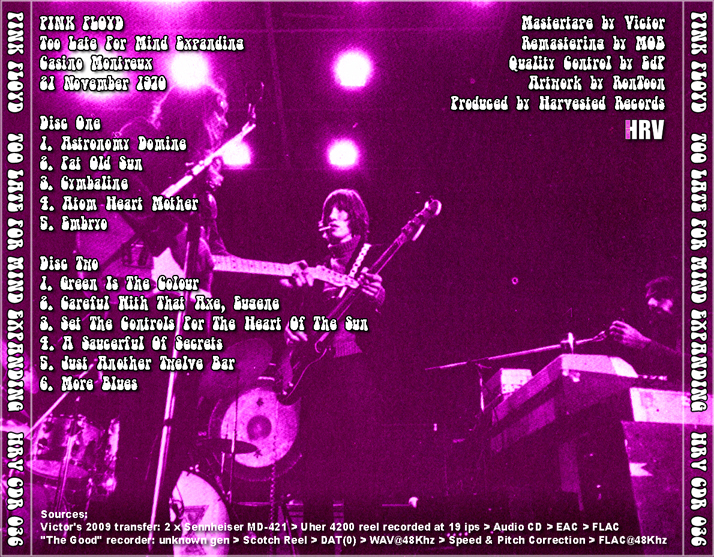 pink floyd live in montreux 1970 - download