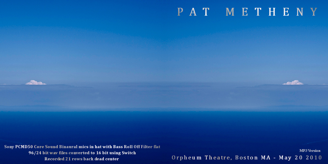 Pat Metheny Metheny and Brad Mehldau Mehldau Quartet