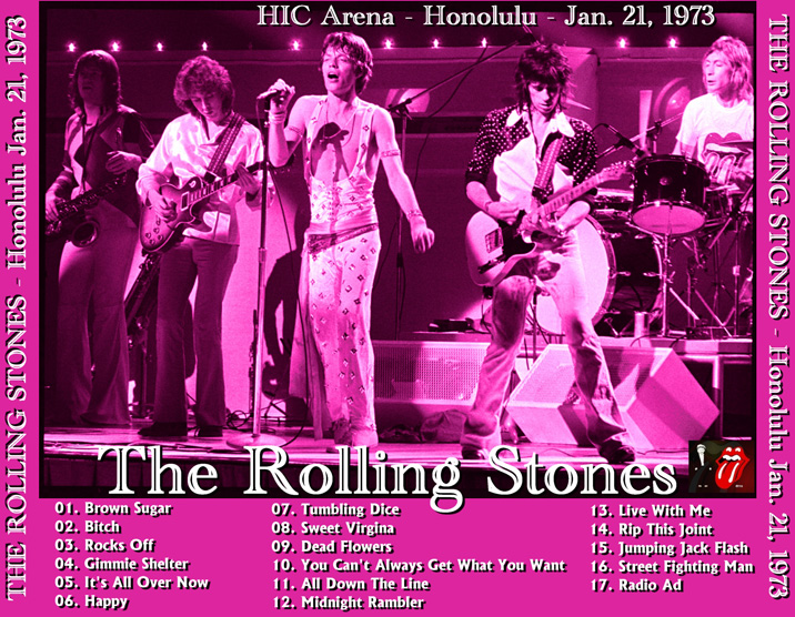 roio » Blog Archive » THE ROLLING STONES - HONOLULU 1973