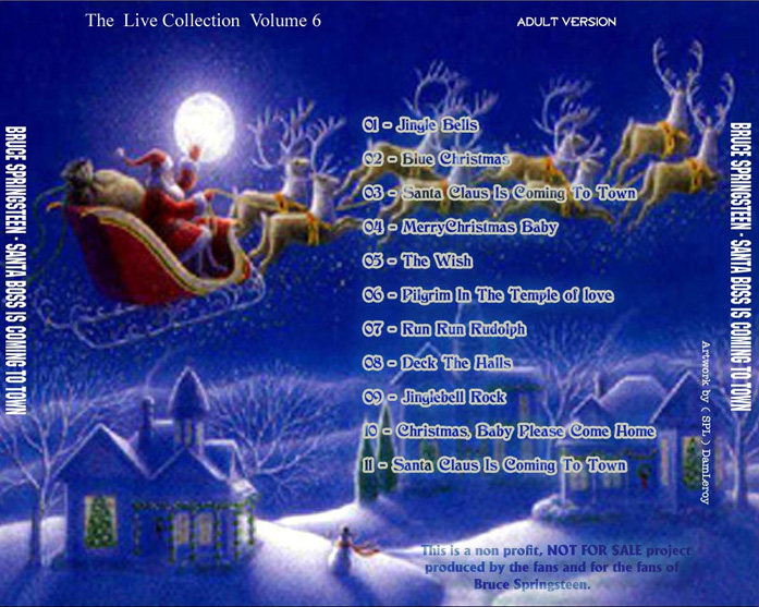 santa boss is coming to town - Bruce Springsteen Christmas Album
