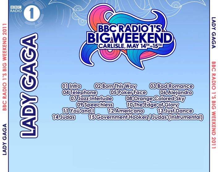 roio » Blog Archive » LADY GAGA - BBC BIG WEEKEND 2011
