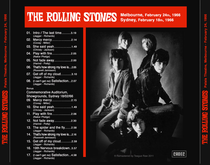 last time rolling stones