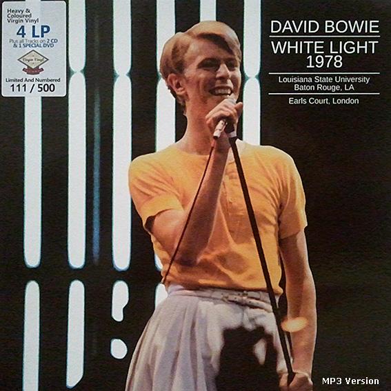roio » Blog Archive » DAVID BOWIE - SOUNDBOARD EARL'S COURT 1978