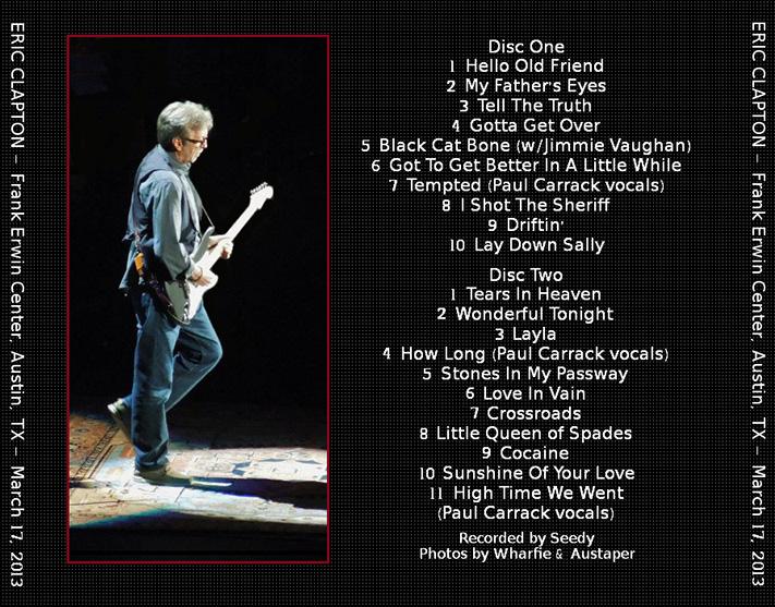 a review of unplugged eric clapton an album recorded during a live show Old love tratto da eric clapton mtv unpluggedla versione più bella di questo stupendo brano.