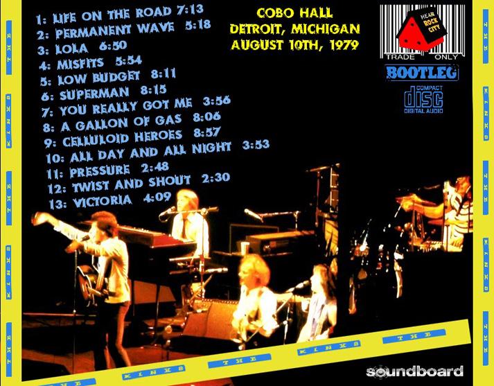 The Kinks Low Budget Tour
