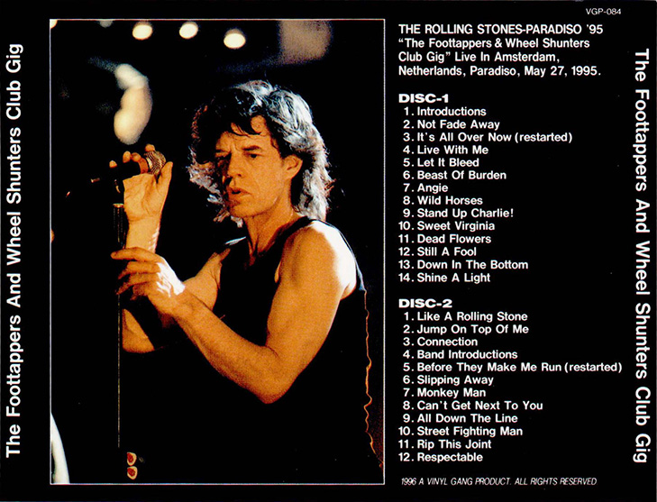 Roio 187 Blog Archive 187 The Rolling Stones Amsterdam 1995