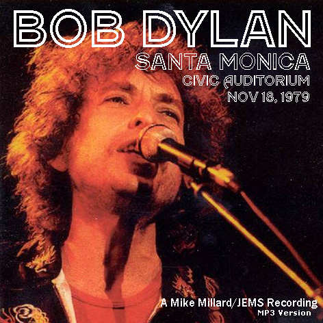 Bob Dylan Santa Monica Civic Auditorium November 18, 1979