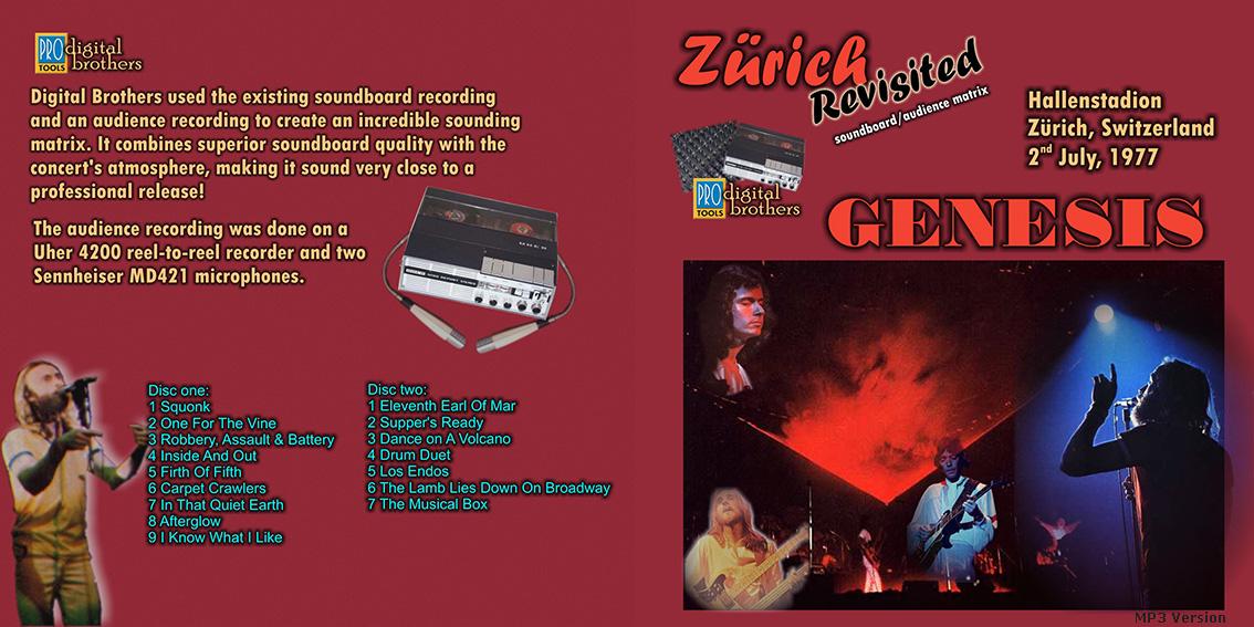 roio » Blog Archive » GENESIS - ZURICH 1977