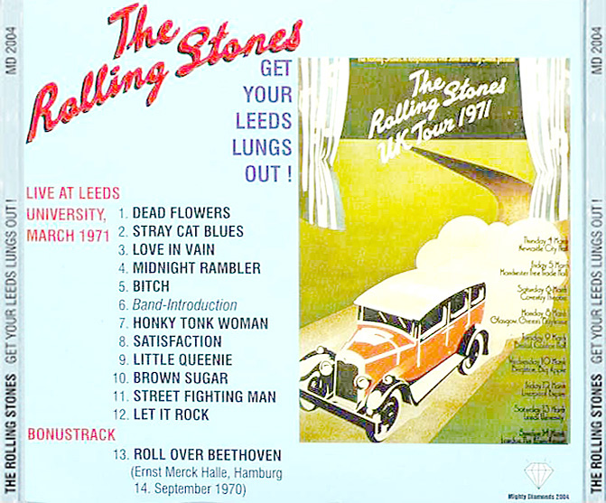 roio » Blog Archive » THE ROLLING STONES - LEEDS 1971