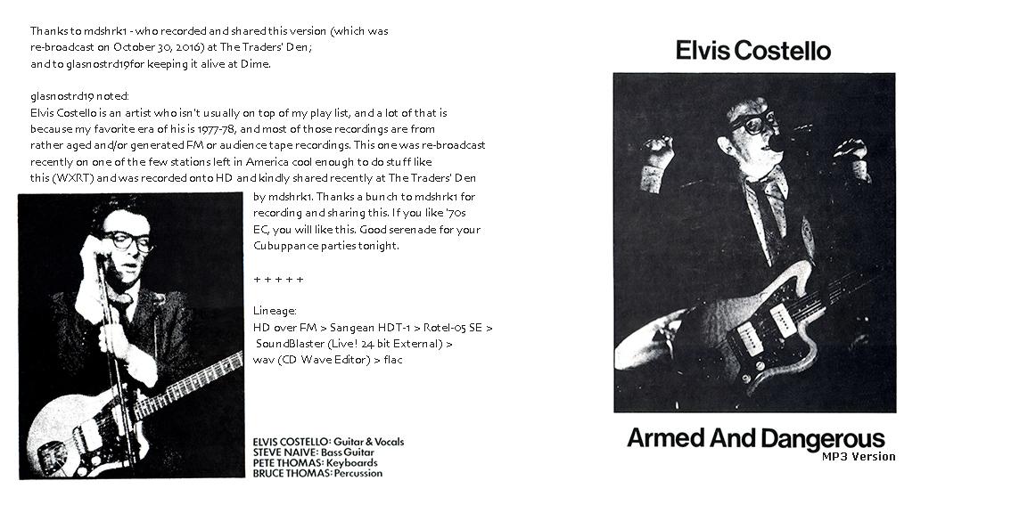roio » Blog Archive » ELVIS COSTELLO - CHICAGO 1977