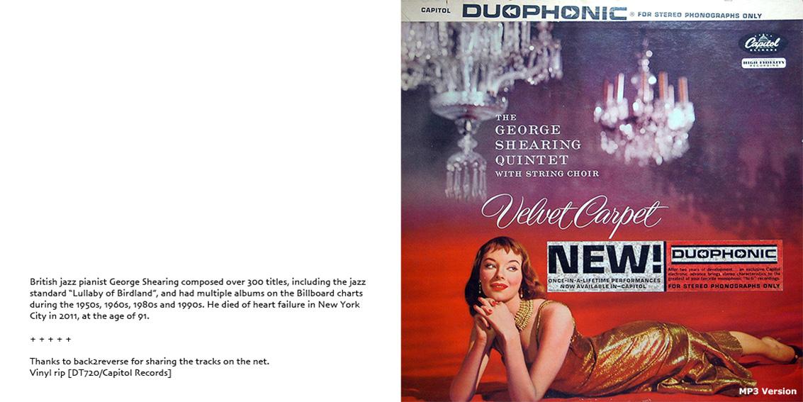 roio » Blog Archive » PUBLIC DOMAIN: GEORGE SHEARING QUINTET