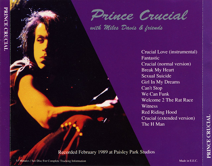 roio » Blog Archive » PRINCE - CRUCIAL [WITH MILES DAVIS] [Updated