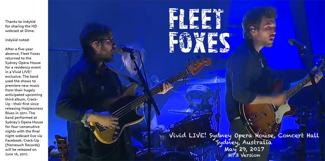 fleet foxes nashville