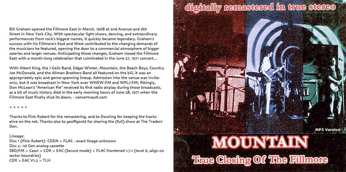 roio » Blog Archive » MOUNTAIN - TRUE CLOSING OF THE FILLMORE 1971