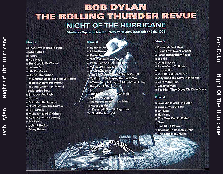 roio » Blog Archive » BOB DYLAN - NIGHT OF THE HURRICANE 1975