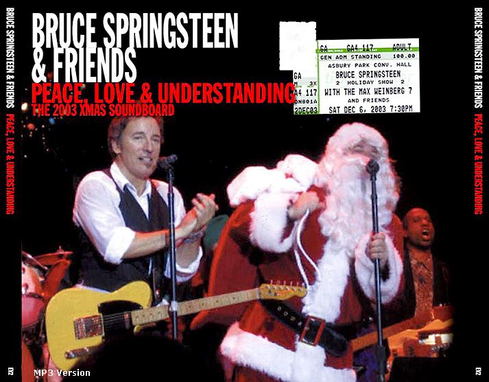 Bruce Springsteen Christmas.Roio Blog Archive Bruce Springsteen Asbury Park 2003