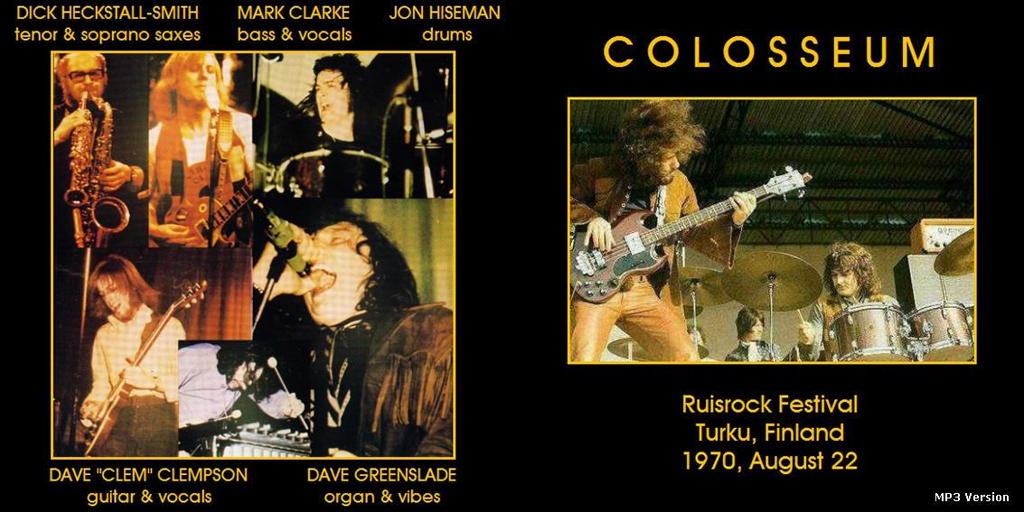 """Résultat de recherche d'images pour """"colosseum - live at ruisrock festival 1970"""""""