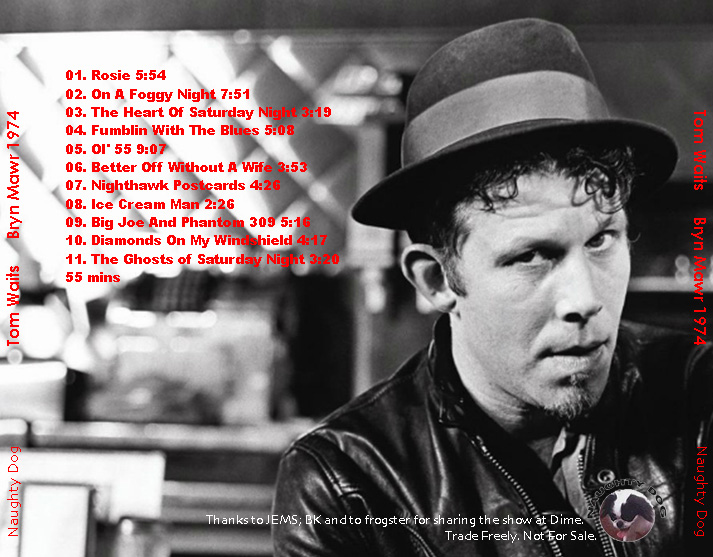 roio » Blog Archive » TOM WAITS - THE MAIN POINT, BRYN MAWR 1974