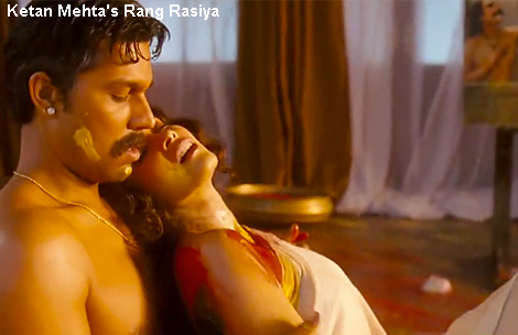 Censorship Of The Arts Gets Into The Spotlight In Ketan Mehtas Rang Rasiya Colours Of Passion 2008 When Artist Raja Ravi Verma Is Put On Trial
